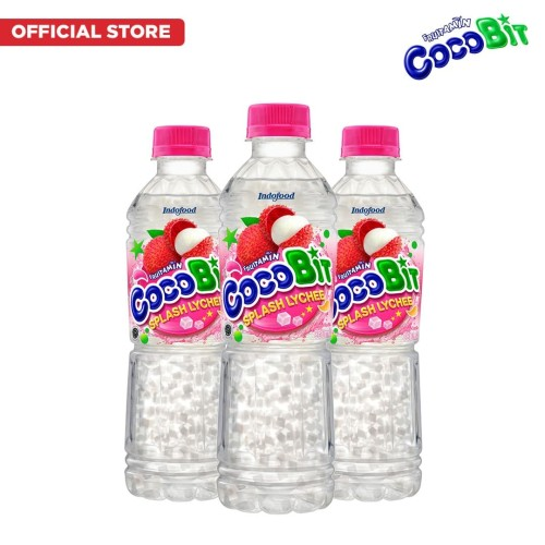 Foto Produk Fruitamin Cocobit Lychee 350 ml x 3 Pcs dari Indofood Beverages