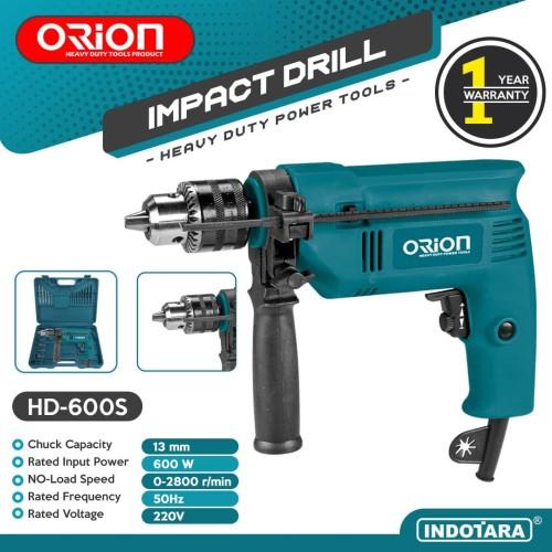 Foto Produk Mesin Bor / Impact Drill Listrik Orion - HD600S dari PT. Indotara Persada