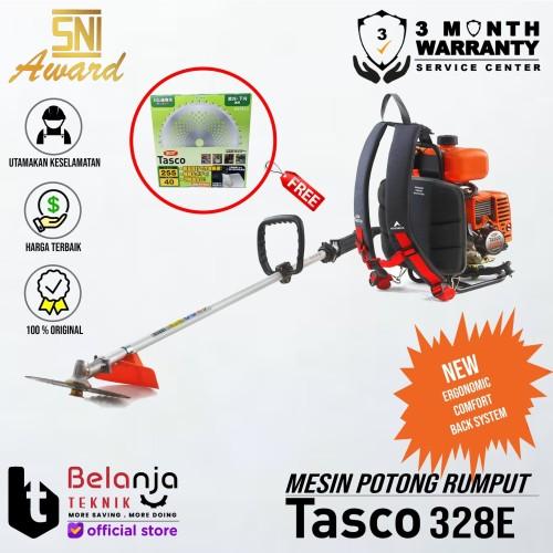 Foto Produk TASCO Mesin Potong Rumput Gendong 328 E Brush Cutter 328E 2 TAK BENSIN dari Belanja Teknik