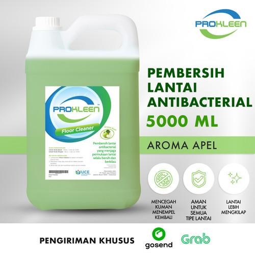 Foto Produk Pembersih Lantai Antibacterial FLOOR CLEANER PROKLEEN 5L GOSEND/GRAB - Apple dari United Cleaning Official