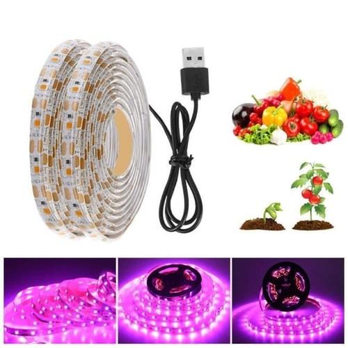 Foto Produk Led Grow Light Hydroponic Strip Lampu Tanaman Hidroponik USB 5V 5M dari Cheap n Fun