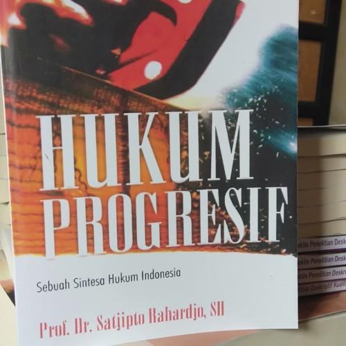 Foto Produk Hukum Progresif - sebuah sintesa hukum Indonesia dari ellysia books