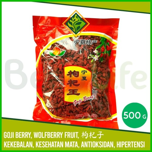 Foto Produk ✅Goji Berry 500 gr Wolfberry Fruit Ki Ci Ki Che Cia Ci Ce Obat Mata dari BeauLife