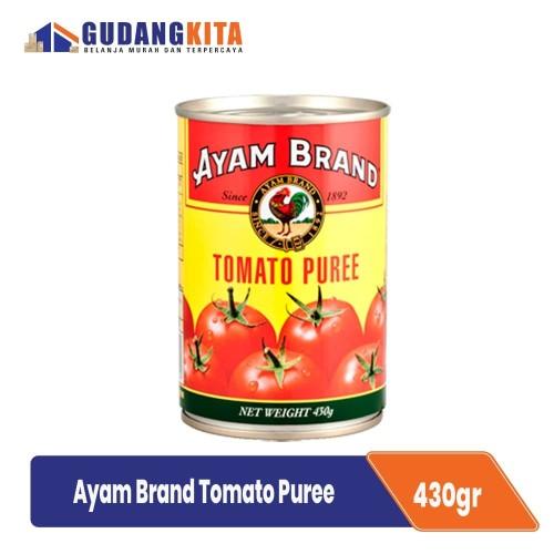Foto Produk Pasta Tomat Ayam Brand 430g - Tomato Puree dari GUDANGKITA COM
