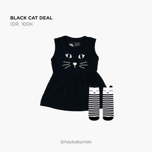 Foto Produk Hey Baby Black Cat Deal - 3-6m dari Hey! Baby