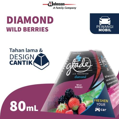 Foto Produk Glade Diamond Wild Berries Reg 80mL - Pengharum Mobil dari KIT Autocare