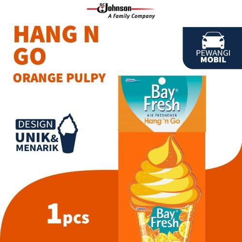 Foto Produk Bayfresh Hang n' Go Orange Pulpy - Pengharum Mobil dari KIT Autocare