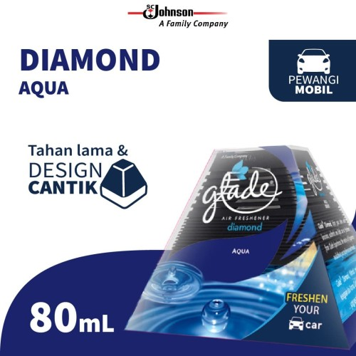 Foto Produk Glade Diamond Aqua Reg 80ml dari KIT Autocare