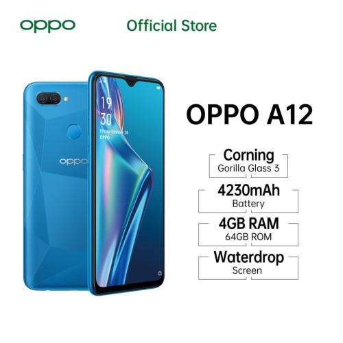 Foto Produk OPPO A12 3/32 GB - Garansi Resmi OPPO - Abu-abu dari Universe Store