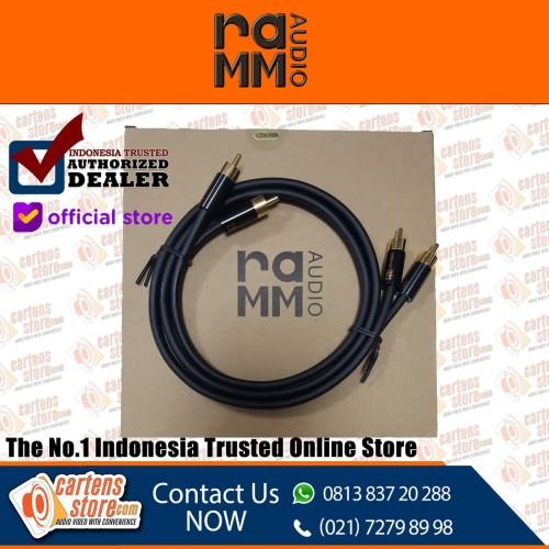 Foto Produk RAMM Audio S8 - 300G ( 5 Meter ) RCA Cable By Cartens-Store.com dari Cartens Store