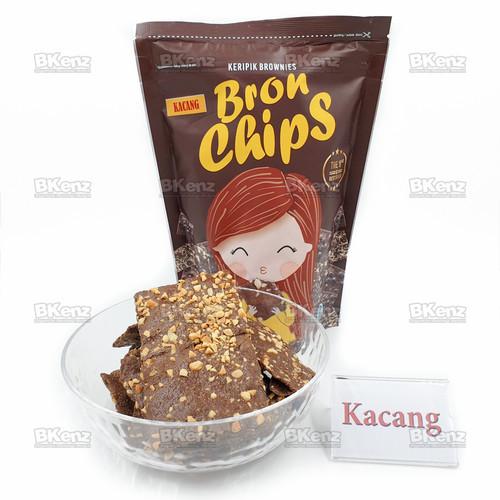 Foto Produk BronChips Keripik Brownies Kripik Bron Chips - Kacang dari BKenz