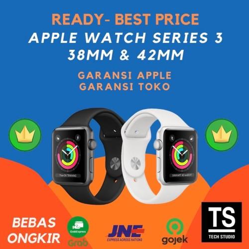 Foto Produk Garansi iBox Apple Watch Series 3 42MM 38MM Space Grey Silver Sport - GRS APPLE INTER, 38MM SILVER dari Tech Studio Indonesia