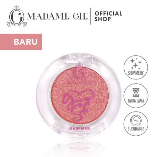 Foto Produk Madame Gie Going Solo Shimmery Pressed Eyeshadow - MakeUp - Shimmery 02 dari Madame Gie Official