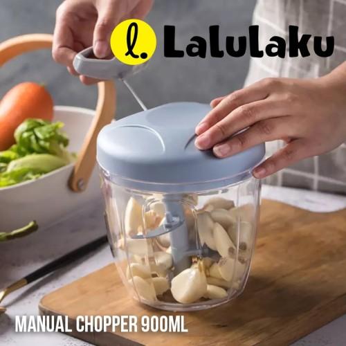 Foto Produk LALULAKU CHOPPER WARNA BESAR BLENDER TANGAN TARIK MANUAL BUMBU DAPUR dari Lalulaku