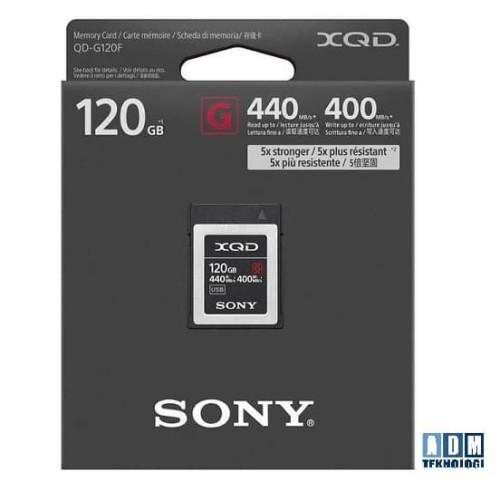Foto Produk Sony 120GB G Series XQD Memory Card dari ADM tekno
