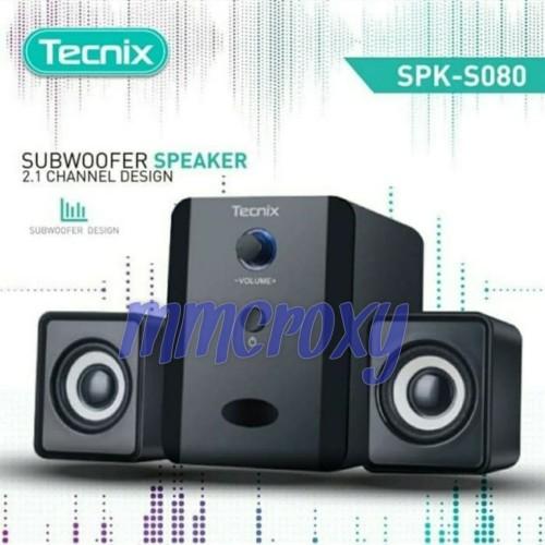 Foto Produk Tecnix SPK-S080 - Speaker Subwoofer dari mmcroxy.onlineshop