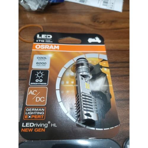 Foto Produk OSRAM LED T19 M5 K1 lampu utama motor H6 PUTIH AC / DC - Plug n Play dari Lestari Motor 2