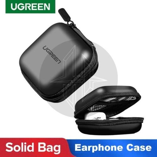 Foto Produk UGREEN 40816 Earphone Storage Hard Case Charger Kabel Flashdisk Tempat dari HimTech