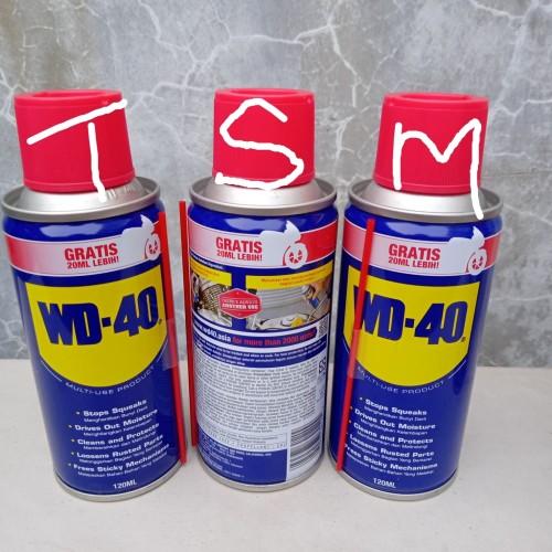 Foto Produk WD 40 PELUMAS ANTI KARAT /PELUMAS SERBAGUNA isi 120 ML dari TSM Shops