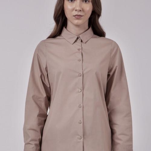Foto Produk The Executive Regular Shirt 5-BLWKEY120C092 Khaki - Khaki, M dari The Executive Indonesia