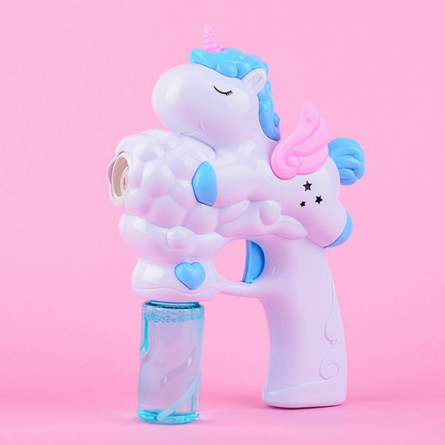 Foto Produk Tseloop Mainan Anak Bubble Gun Karakter Mainan Tembakan Balon Sabun - M50-PUTIH UNICO dari Tseloop Mall