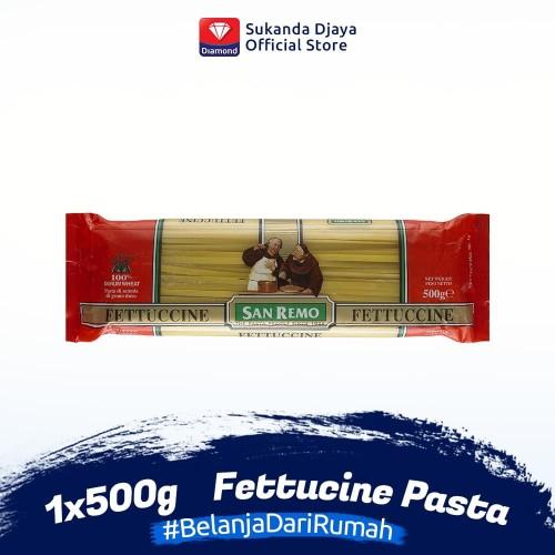 Foto Produk San Remo Pasta Fettucine 500 g dari Sukanda Djaya Home