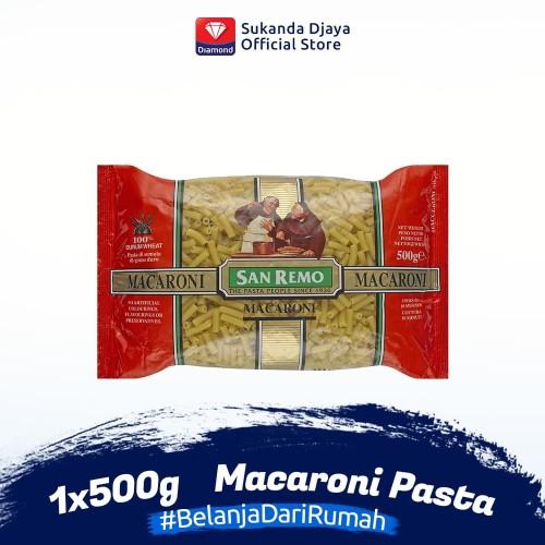 Foto Produk San Remo Pasta Macaroni 500 g dari Sukanda Djaya Home