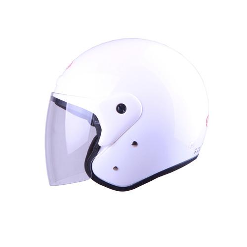 Foto Produk NEW!! Helm Andes Half Face AS- 506D White - L dari Bike Master