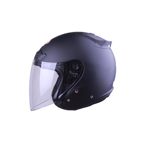 Foto Produk NEW!! Helm Halfface Andes AS-609 Matt Black - M dari Bike Master