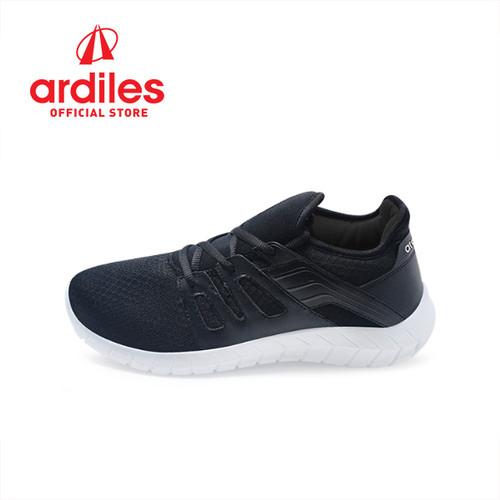Foto Produk Ardiles Men Jammar Sepatu Running - Hitam Putih - Hitam Putih, 38 dari Ardiles Official Store