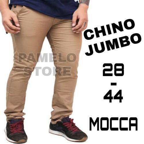 Foto Produk celana chino pria jumbo / cino big size / chinos super jumbo premium dari playjeans