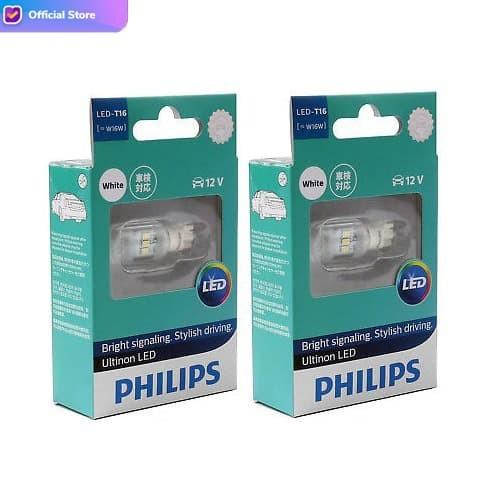 Foto Produk Philips Ultinon LED W16W T16 Lampu Mundur Putih dari Depo Oto
