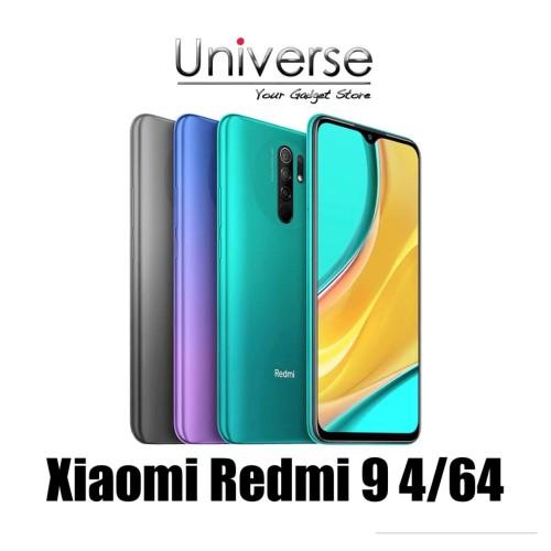 Foto Produk Xiaomi Redmi 9 4/64 GB - Garansi Resmi Xiaomi Indonesia - Ungu dari Universe Store