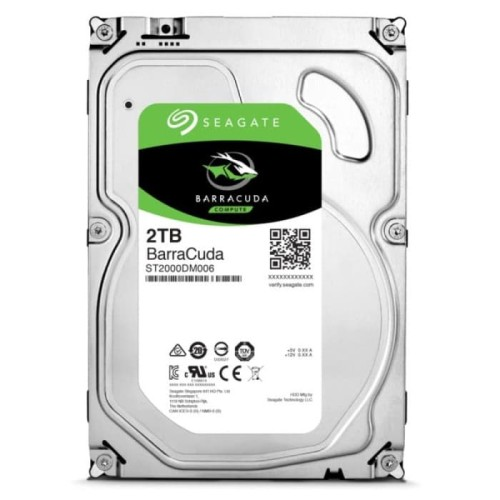 Foto Produk Seagate Barracuda Desktop 2TB 3.5 Inch Harddisk Internal dari Flazz Computer Pekanbaru