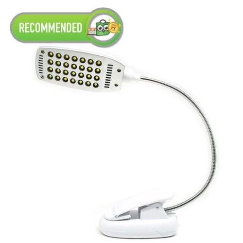 Foto Produk Lampu Klip Jepit USB 28 LED dari futureshopid