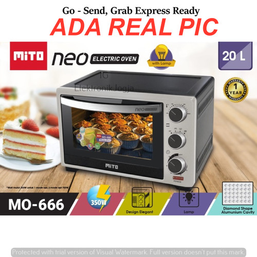 Foto Produk Oven MITO MO - 666 Neo dari ElektroJogja