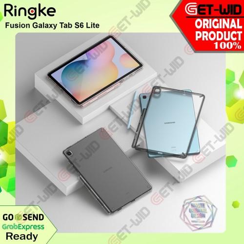 Foto Produk Case Galaxy Tab S6 Lite Ringke Fusion Anti Crack Casing Original - Hitam dari GET-WID Official