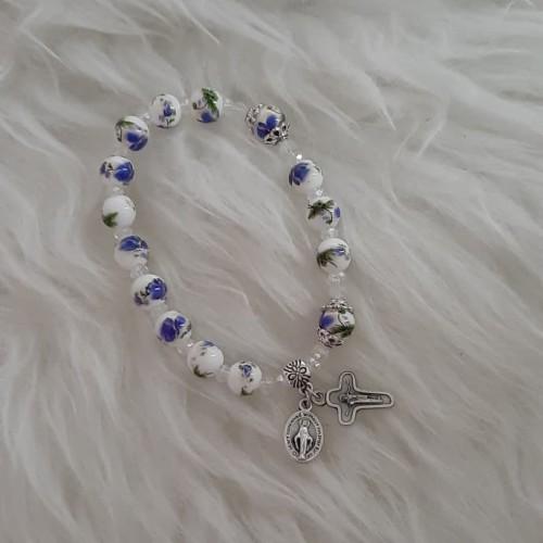 Foto Produk gelang rosario keramik dari angela handycraft