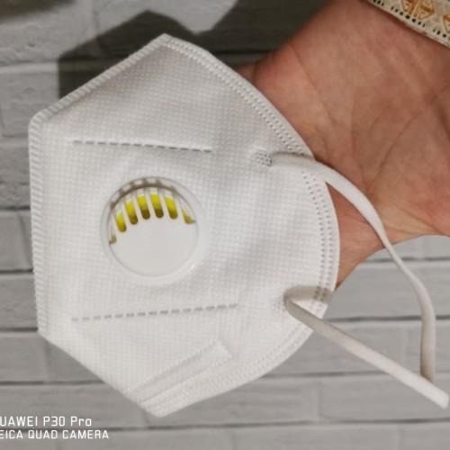 Foto Produk masker KN95 respirator - KN95 foldable mask with respirator dari Koreanholicshop