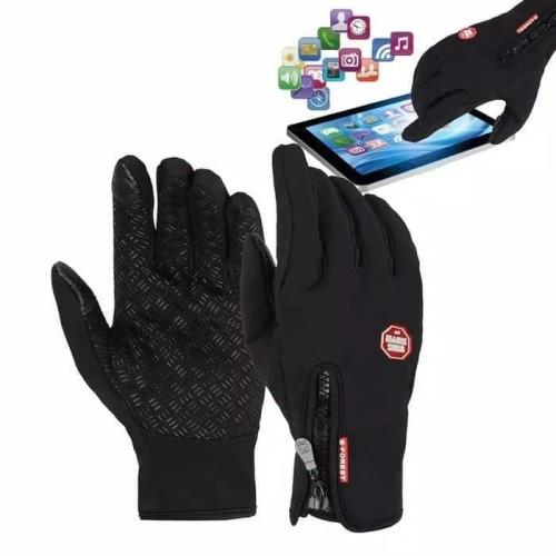 Foto Produk Sarung Tangan Motor/Sepeda Touch Screen Gloves B-Forest Waterproof - M dari YOMZ Rider