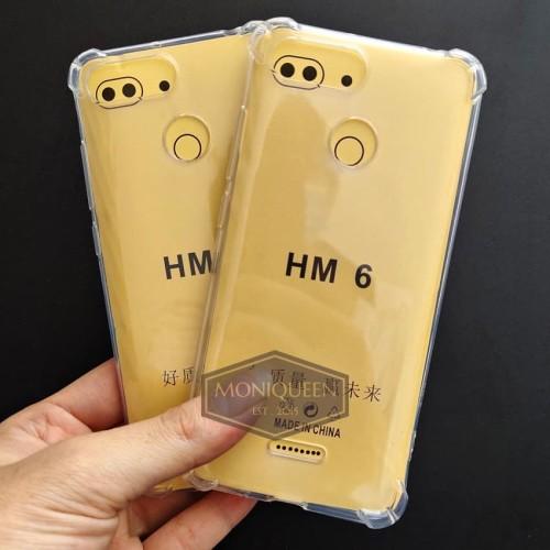 Foto Produk Xiaomi Redmi 6 Anti Crack Case Casing / Anticrack case softcase dari MoniQueenShop