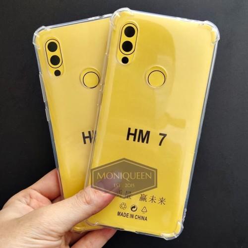Foto Produk Xiaomi Redmi 7 Anti Crack Case Casing /Anticrack softcase case dari MoniQueenShop