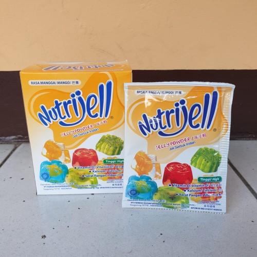 Foto Produk [satuan] NUTRIJELL Jelly Powder Rasa MANGGA / MANGO 15 gram dari Aimee Bag & Plush Toys