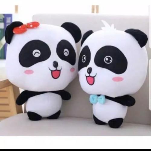 Foto Produk Boneka baby bus panda | baby panda cute - Merah Muda dari Rhei shop