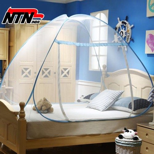 Foto Produk NTN INDO - Kelambu Tempat Tidur Anti Nyamuk Kanopi 180 x 200 dari NTN Indo