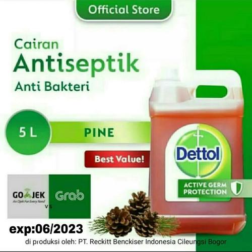 Foto Produk Dettol Antiseptik 5 liter dari oemahjamu