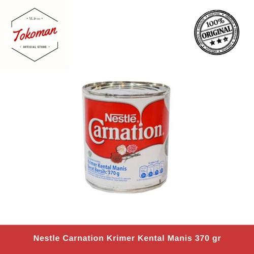 Foto Produk (GRAB/GOJEK) Nestle Carnation Krimer Kental Manis 370gr / 370 gr Susu dari Tokoman Official Store
