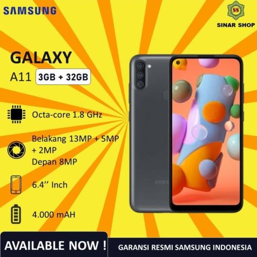 Foto Produk Samsung Galaxy A11 Ram 3GB Rom 32GB Garansi Resmi SEIN - Putih dari Home Cell