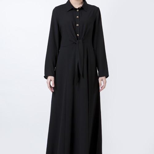 Foto Produk The Executive Basic Long Dress 5-DDWKEY120D020 Black - Hitam, L dari The Executive Indonesia
