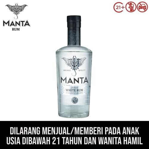 Foto Produk Manta White Rum dari kawan minum